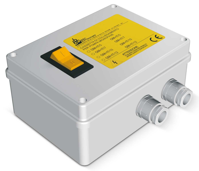 Tablou protectie QM IT pentru pompe monofazate
