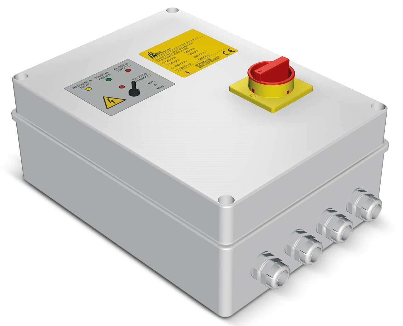Tablouri automatizare pompe submersibile AM - AT