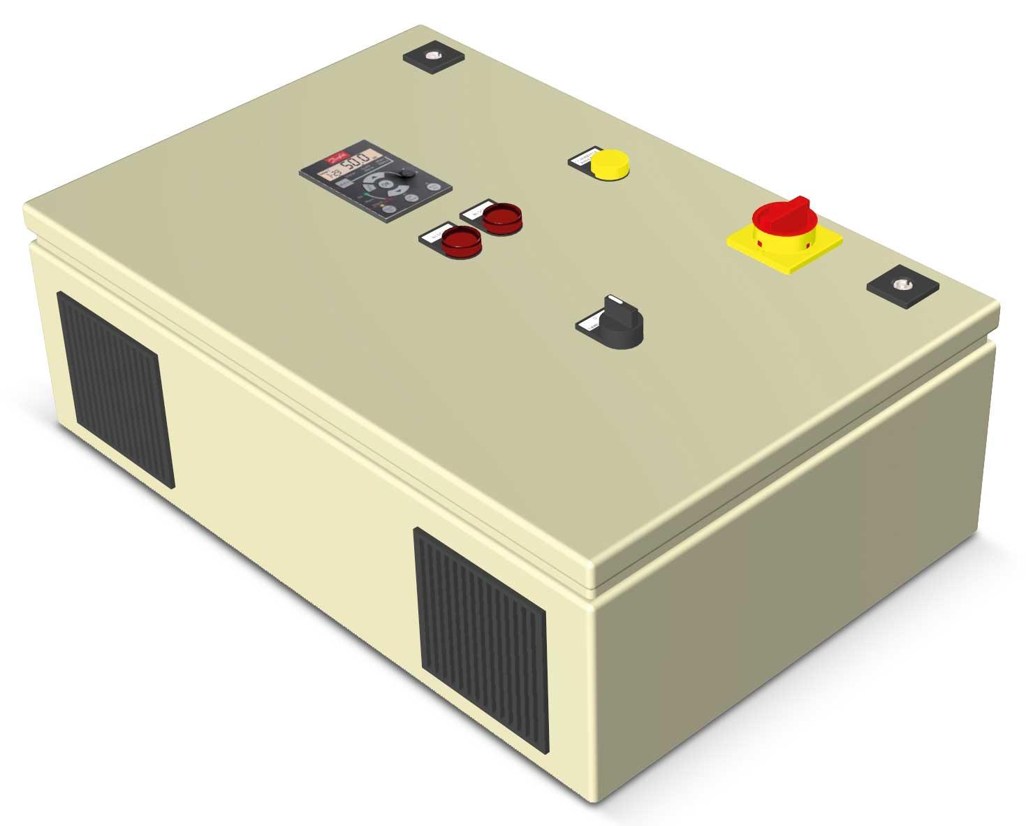 Tablou cu convertizor seria ATI pentru pompe trifazate