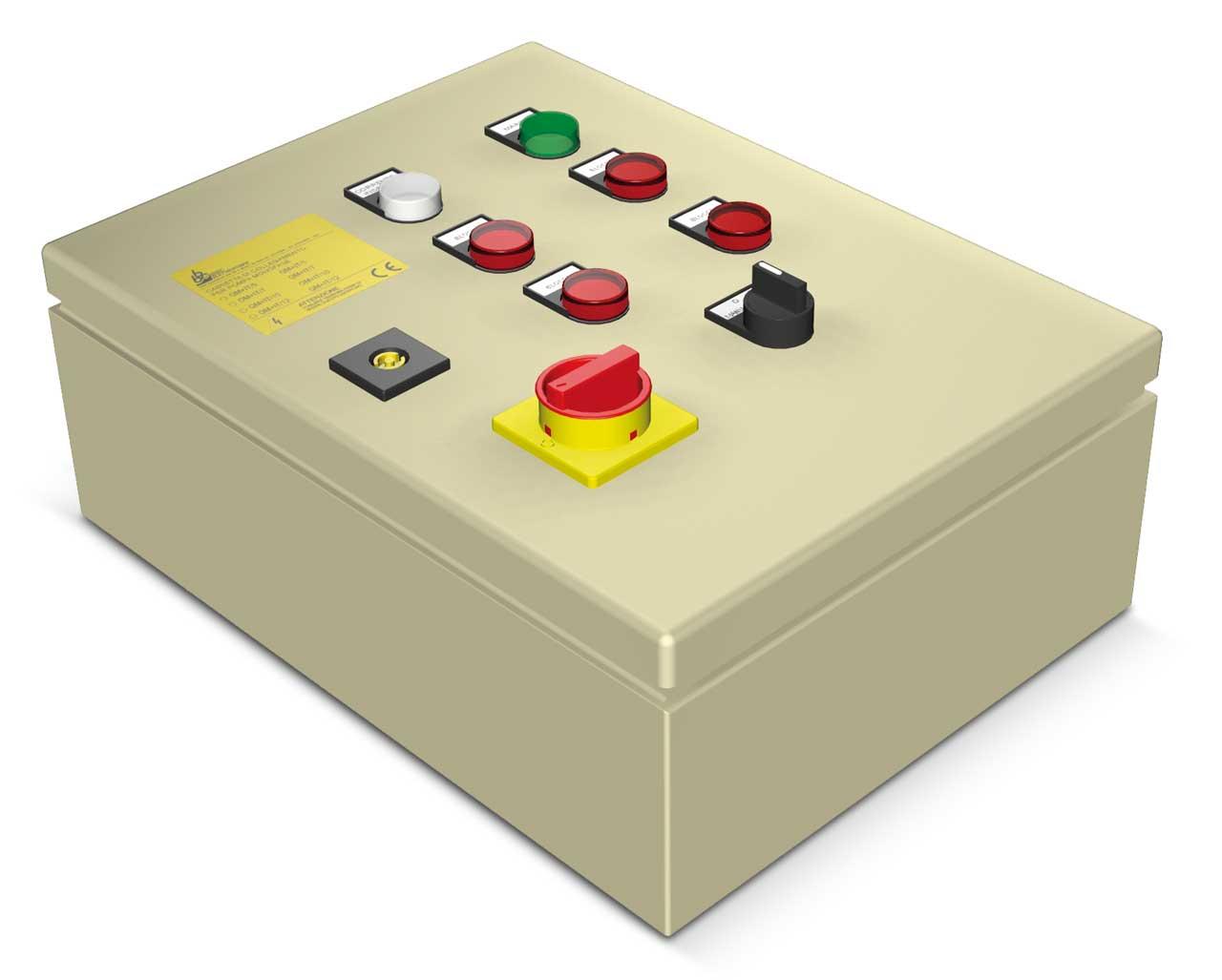 Tablou pornire directa (DOL) ATS pentru controlul unei pompe Semisom /80